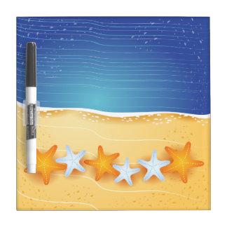 Beach background, Dry-Erase Board