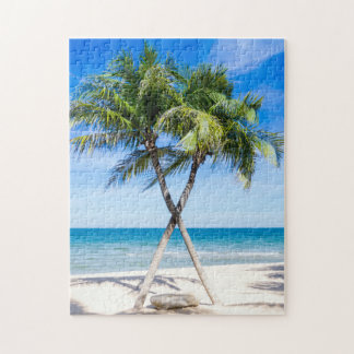 Beach Background Jigsaw Puzzle