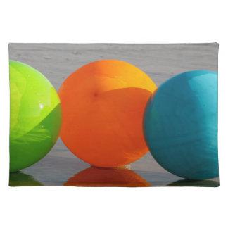 Beach Ball Balloons Placemats