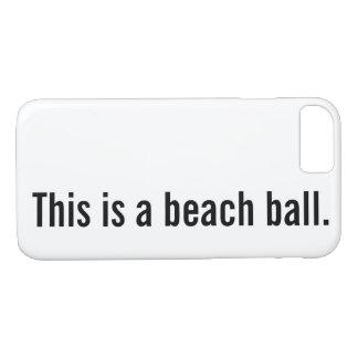 beach ball iPhone 8/7 case