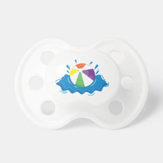 Beach Ball Baby Pacifier