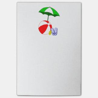 Beach Ball Pool Umbrella Post it Post-it® Notes
