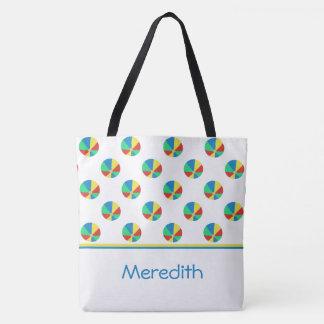 Beach Balls | Personalized Tote Bag