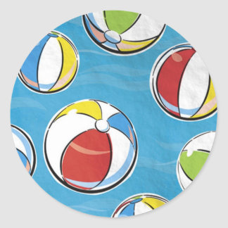 Beach Balls Sticker