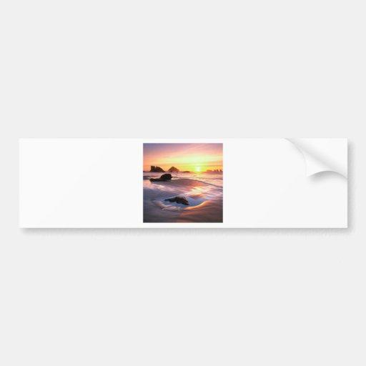 Beach Bandon Bumper Sticker