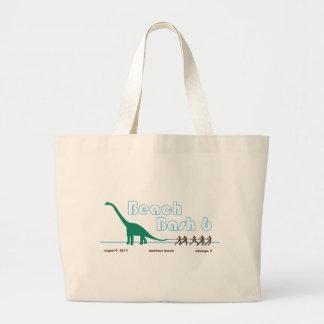 Beach Bash 6 Goods Large Tote Bag