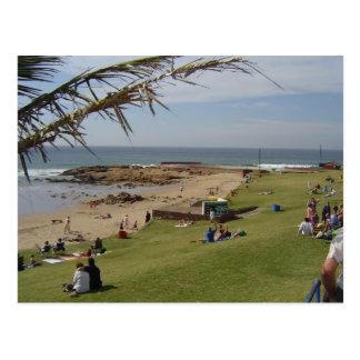 Beach Bathers Postcard