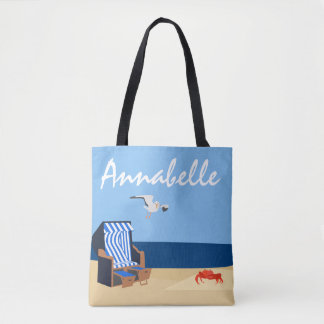 Beach Bathing Tote Bag