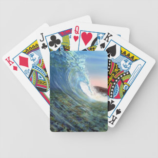 beach, beach wave bicycle playing cards