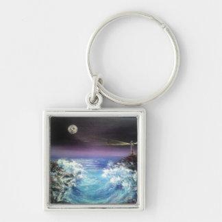 Beach, beachwave keychain