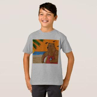 Beach Bear T-shirt Kids