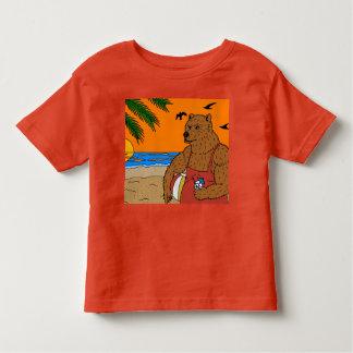 Beach Bear T-shirt Toddler