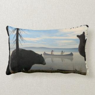 Beach Bears Lumbar Pillow