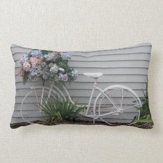 Beach Bicycle Lumbar Pillow