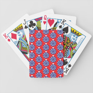 beach bicycle playing cards