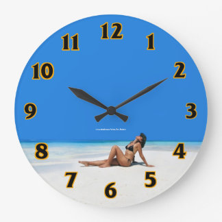 Beach Bikini Clocks
