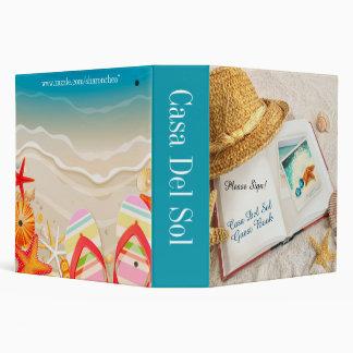Beach Binder - Guest Book - Notebook