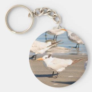 Beach Birds keychain