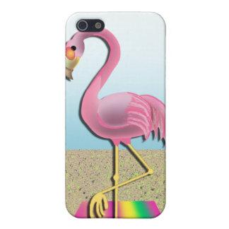 Beach Blanket Flamingo Phone Cover iPhone 5/5S Case