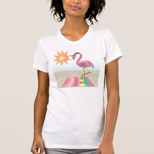 Beach Blanket Flamingo Tank Top