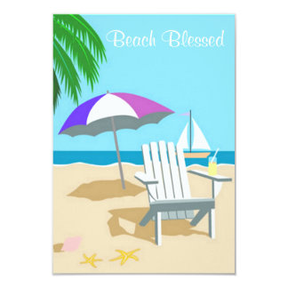 Beach Blessed Invite