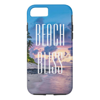 Beach Bliss. Beatiful tropical island iPhone 8/7 Case