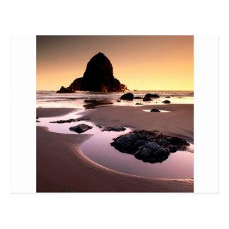 Beach Boardman Brookings Harbor Postcard