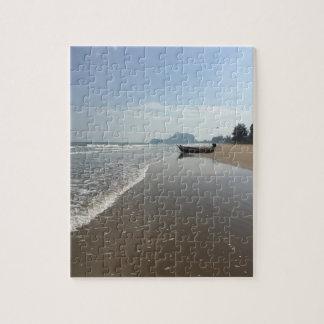 Beach Boat Puzzle