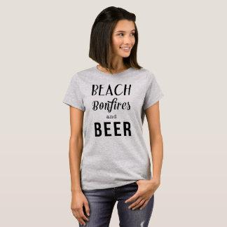 Beach Bonfires and Beer T-Shirt