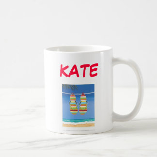 Beach-Bound-Flip-Flops-Print-C12042747, KATE, m... Coffee Mug