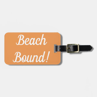 Beach Bound Luggage Tag