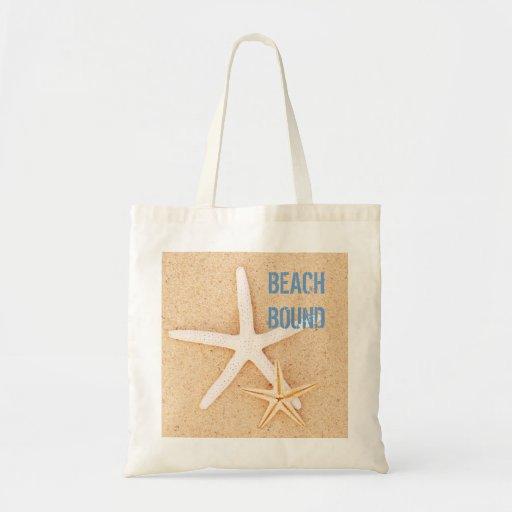 Beach Bound Starfish Beachbag Canvas Bags