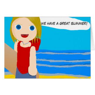 beach boy card