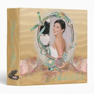 Beach Bridal Shower Keepsake Album  YOUR Photo Binders