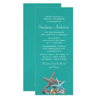 Beach Bridal Shower Starfish Invitations