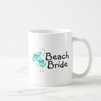 Beach Bride (Beach Wedding) Mugs