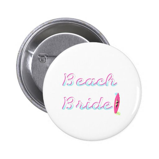Beach Bride Pin