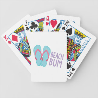 Beach Bum Bicycle Playing Cards