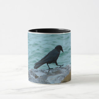 Beach Bum Crow Mug