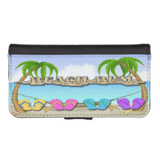 Beach Bum iPhone 5/5s Wallet Case