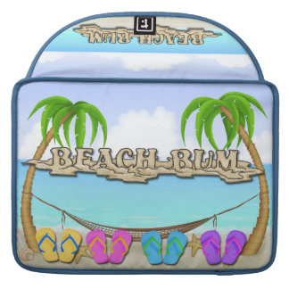 Beach Bum Macbook Pro Sleeve