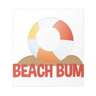 Beach Bum Notepad