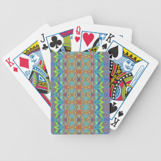 Beach bum plaid bicycle playing cards