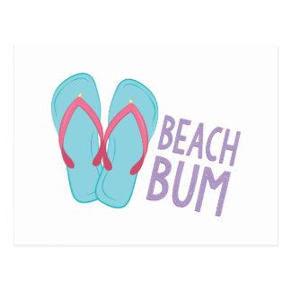 Beach Bum Postcard