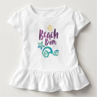 Beach Bum Seashells & Sun Summer Vacation TS18A Toddler T-shirt