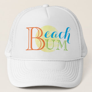 Beach Bum Sun Trucker's Hat