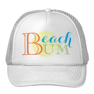 Beach Bum Sun Trucker's Hat