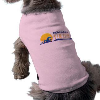 Beach Bum Yinzer Design Pet Tank Shirt