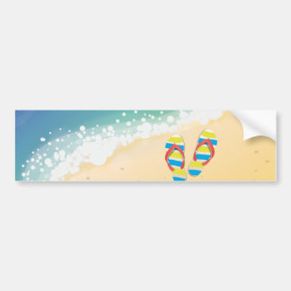 Beach Bumper Sticker