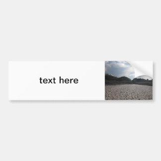 Beach Car Bumper Sticker